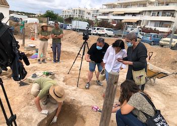 Excavación en Sant Francesc. Foto: CIF